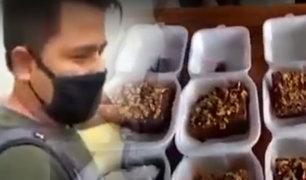 Cercado de Lima: intervienen a sujetos vendiendo droga en pasteles