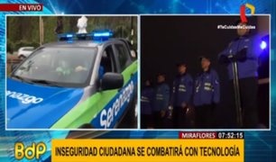 Miraflores presenta 'comisarías móviles' que combatirán inseguridad con tecnología