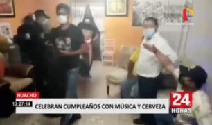 Huacho: intervienen a personas que festejaban cumpleaños