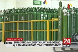 Empresa instaló moderna planta de oxígeno en Villa El Salvador