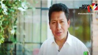 Acción Popular rechaza afirmaciones del congresista Arapa