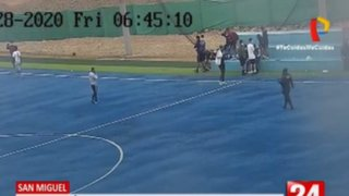 San Miguel: Jóvenes jugaban fulbito en cancha de la Costa Verde pese a prohibición