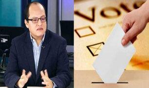 Víctor Quijada: Estamos en un contexto electoral incierto que agudizará la crisis económica