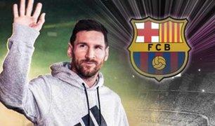 Lionel Messi se niega a volver a los entrenamientos con el Barcelona