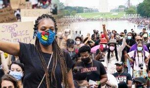 EEUU: miles marchan en Washington contra el racismo en plena pandemia
