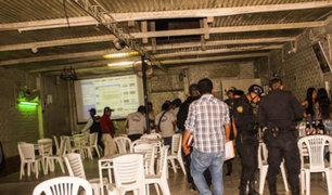Arequipa: intervienen local clandestino donde realizaban fiesta chicha