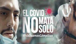"""Lanzan campaña """"No Seamos Cómplices"""" para prevenir más contagios de coronavirus"""