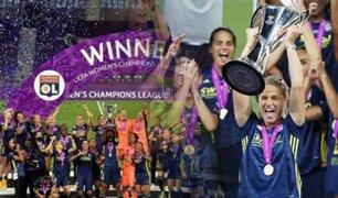Olympique Lyon se consagró campeón de la Champions League femenina