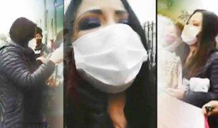 Congresista Cecilia García regaló turrones, generó aglomeraciones y burló los protocolos sanitarios