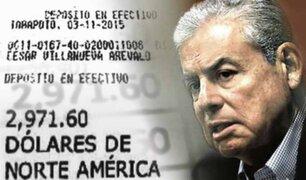 Nuevo caso contra César Villanueva: aparecen hojas con pagos mensuales para expremier