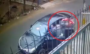 Comas: delincuente asalta a taxista tras fingir ser pasajero
