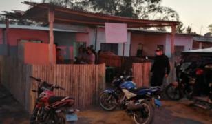 PNP interviene pelea de gallos con más de 30 asistentes en Chiclayo