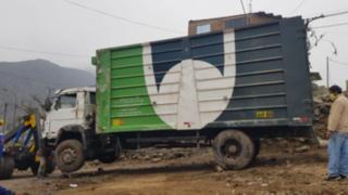 Gestante perdió a su bebé tras ser atropellada por camión del municipio de Comas