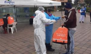 Miraflores incautó cajas de repartidores de delivery que dieron positivo para Covid-19