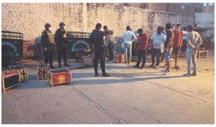 PNP detuvo a asistentes de pelea de gallos en Sullana