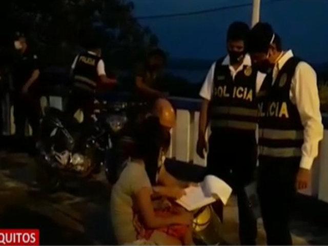 Iquitos: rescatan a menor de edad durante operativo contra la trata de personas