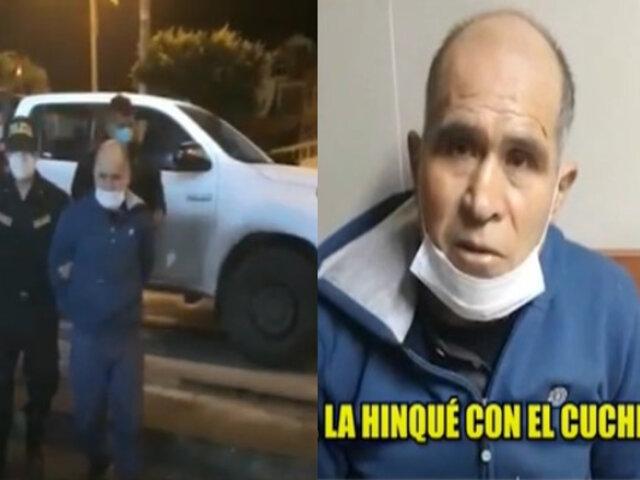 Barranca: hombre acuchilló en el cuello, rostro y piernas a expareja por celos