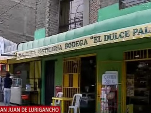 San Juan de Lurigancho: Bodegueros y panaderos denuncian que viven con miedo