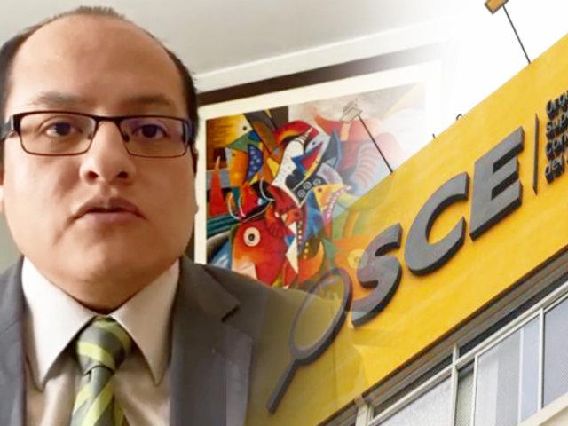 Víctor Quijada: Contratos públicos han sido deformados para enriquecer a corruptos