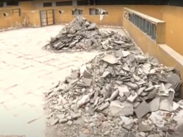 La Victoria: limpian plaza Manco Cápac tras denuncia de abandono y suciedad