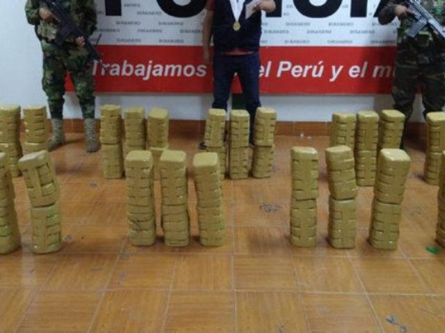 Puno: decomisan más de 275 kilos de cocaína tras descubrir campamento de narcotraficantes