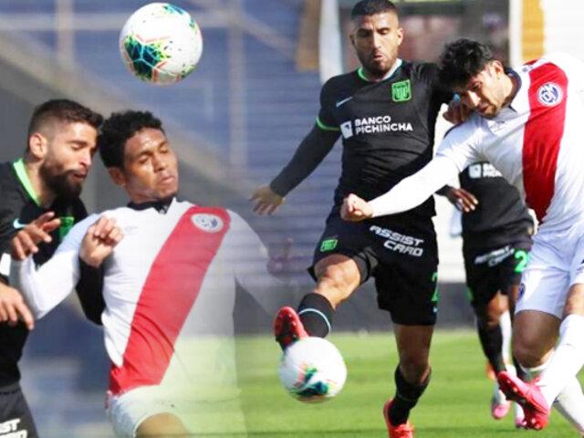 Municipal y Alianza Lima empatan en amistoso jugado en Matute