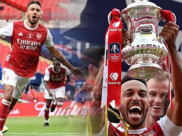 Reino Unido: Arsenal se coronó campeón de la FA Cup tras vencer al Chelsea