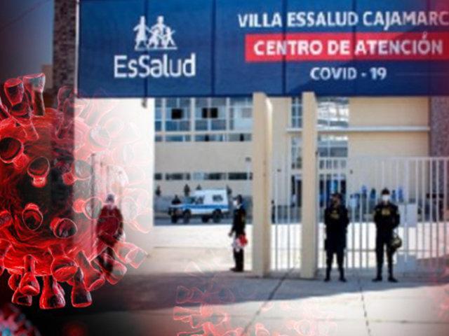 Instalan Villa Essalud en Cajamarca para pacientes con COVID-19