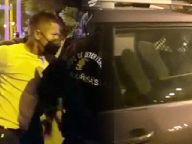 Ray Sandoval: futbolista es intervenido por manejar en presunto estado de ebriedad