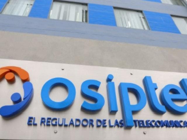 Osiptel multa a tres operadoras telefónicas con más de S/ 3.6 millones