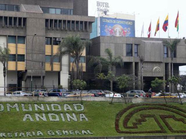 San Isidro: robaron computadoras y televisores de la sede de la Comunidad Andina