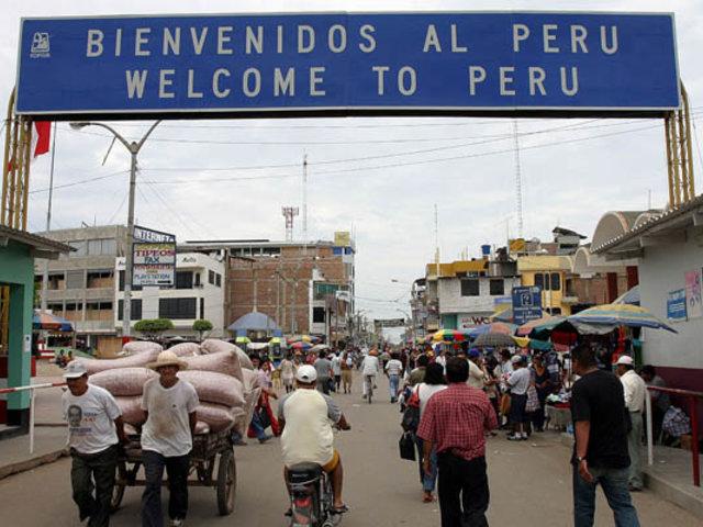 Tumbes: destruyen puentes artesanales usados por contrabandistas en la frontera
