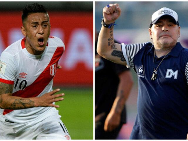 Christian Cueva: Diego Maradona piensa fichar al peruano para Gimnasia
