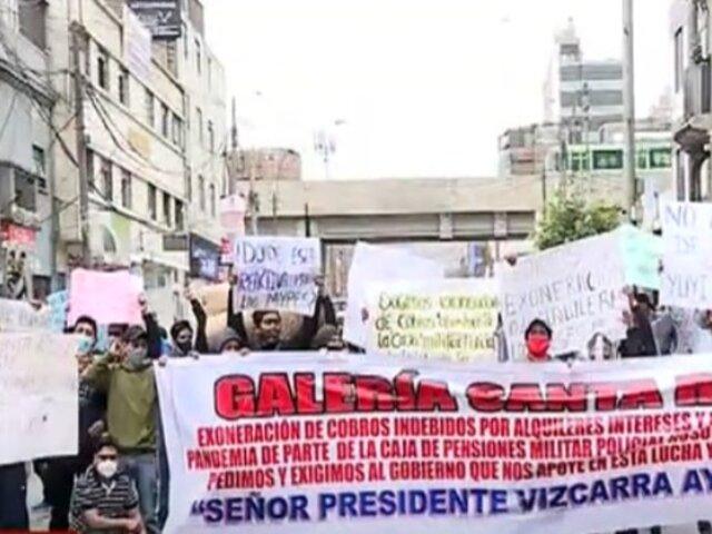 Gamarra: Dueños obligan a pagar alquileres por meses que estuvieron cerrados
