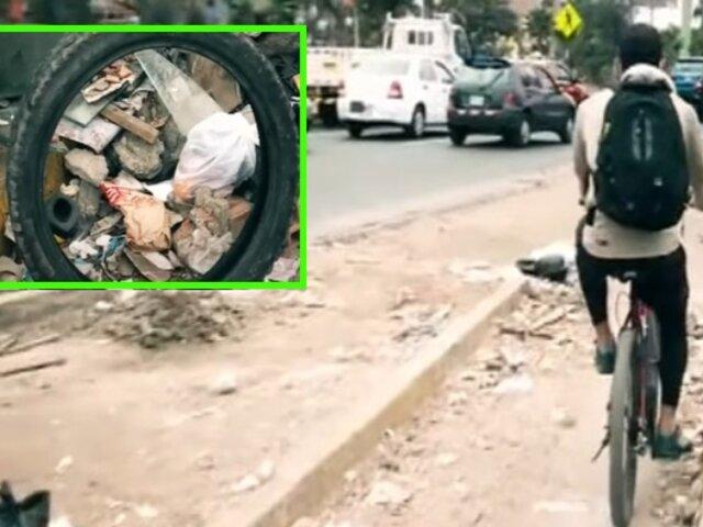Si te afecta es Noticia: Presenta deficiencias ciclovía de avenida Universitaria