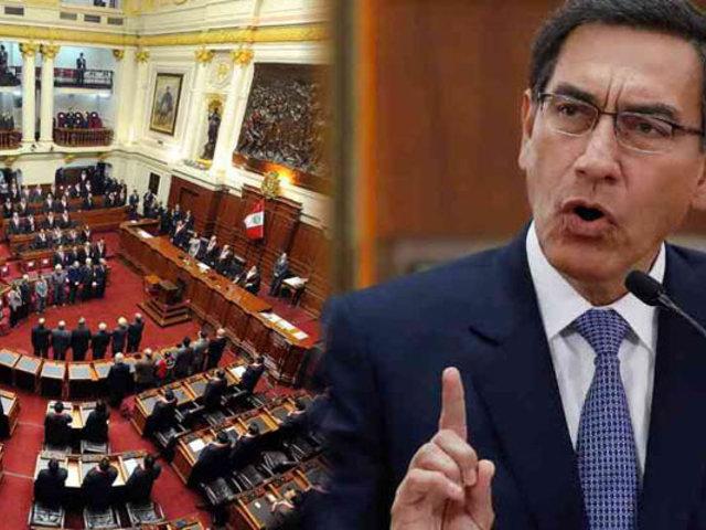 Congreso comunicó a Vizcarra negación de voto de confianza a Gabinete Cateriano