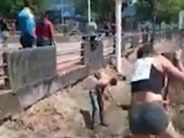 Venezuela: régimen castiga con trabajos comunitarios por salir sin mascarilla