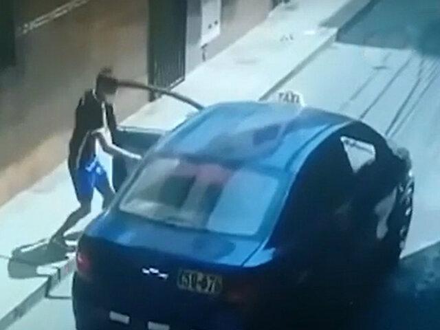 SJL: PNP captura a líder de banda dedicada a asaltar taxistas