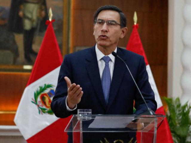 Martín Vizcarra: pese a la crisis sanitaria, el Congreso agregó otra crisis política más