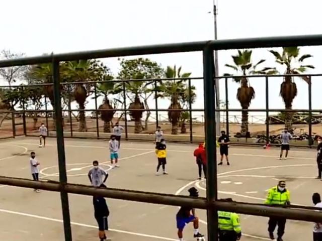 Magdalena: vecinos denuncian que alcalde intenta cerrar losa deportiva del Malecón Grau