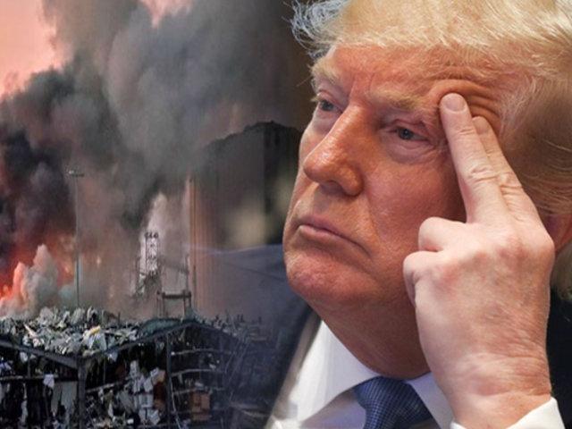 """Donald Trump: """"Explosión en Beirut parece un ataque hecho con bomba"""""""