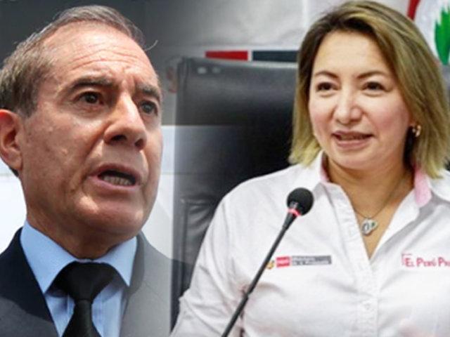 """Rocío Barrios: """"Walter Martos está a la altura de las circunstancias para liderar nuevo Gabinete"""""""