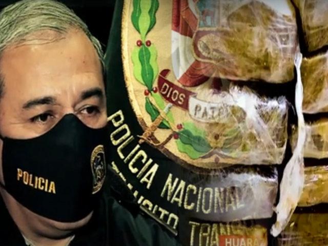 Huaraz: PNP incauta 21 kilos de marihuana escondidos en encomienda para Chimbote