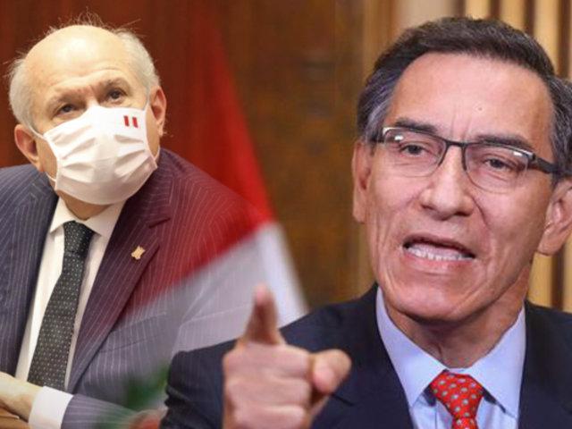 Martín Vizcarra afirma que intereses particulares vetaron a su gabinete