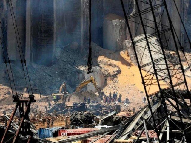 El día después de la tragedia en el Líbano: Así quedó Beirut tras las devastadores explosiones