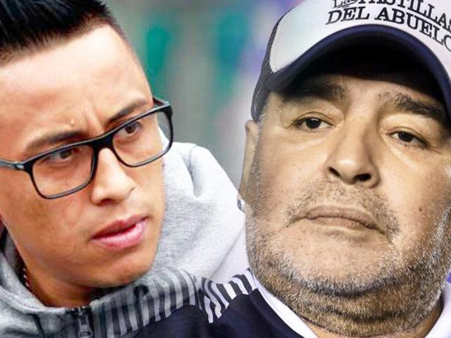 """Christian Cueva: """"Es una satisfacción grande que me llame Maradona"""""""