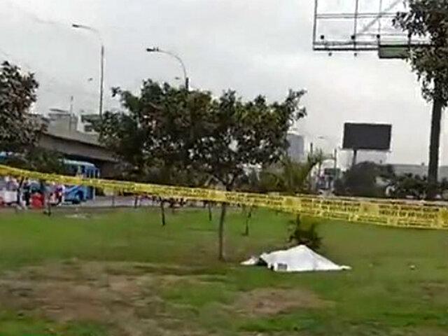 Independencia: hallan a hombre muerto cerca de Plaza Norte