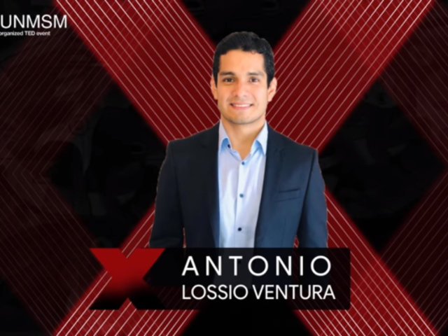 Antonio Lossio Ventura: Evento TED permitirá entender cómo la inteligencia artificial ayuda a la medicina y salud