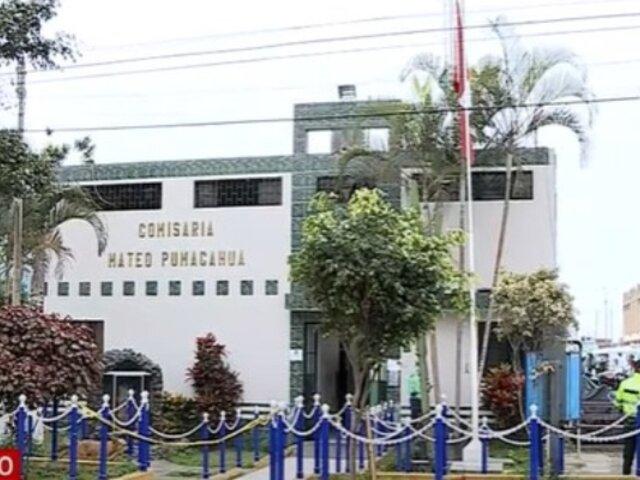 Surco: Policías no usan mascarillas dentro de comisaría pese a que es obligatorio