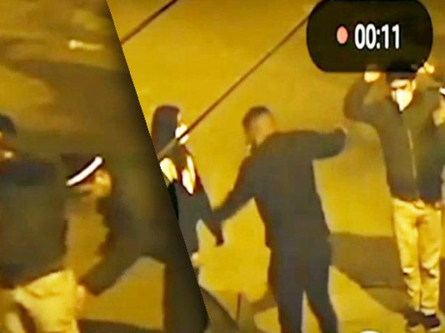 Rímac: cámaras de seguridad registran violento robo a una pareja de transeúntes